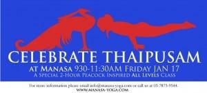 thaipusam special banner