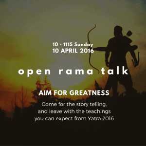 Rama talk without copy